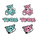 Sticker Pack - Cotton Candy Teddy Fox