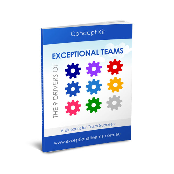 The 9 Drivers of Exceptional Teams Concept Kit [eGuide]