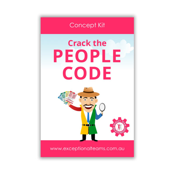 Concept Kit #7 - Crack the People Code [Card Set]