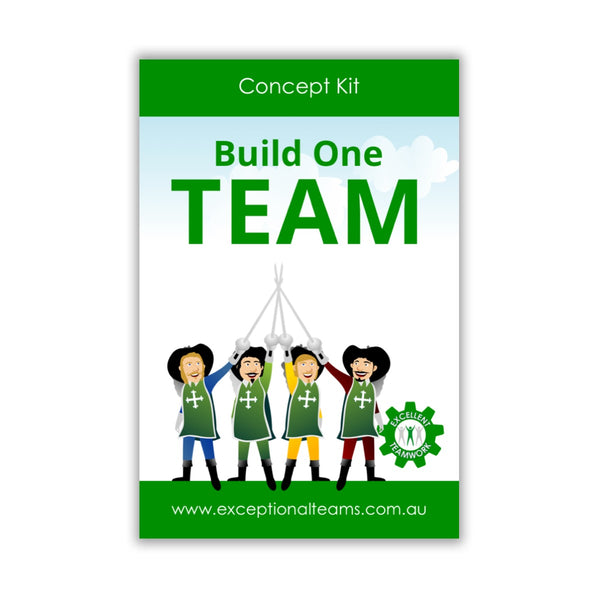 Concept Kit #8 - Build One Team [Card Set]