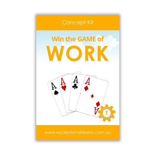 Concept Kit #6 - Win the Game of Work [Card Set]