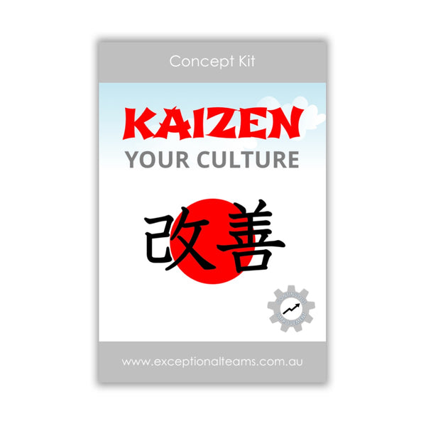 Concept Kit #9 - Kaizen Your Culture [Card Set]