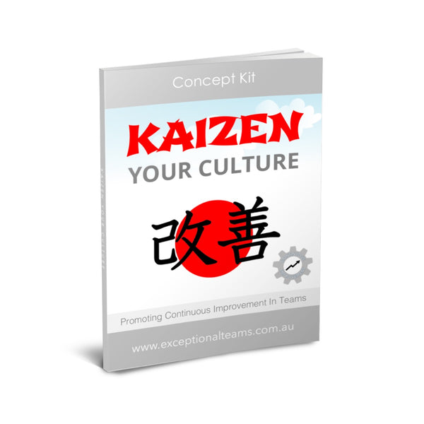 Concept Kit #9 - Kaizen Your Culture [eGuide]