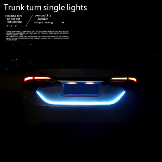 Car light led strips rear trunk aloadofball Image collections
