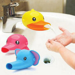 Duck and Elephant Faucet Extender For Kids