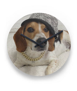beagle Round Wall Clock