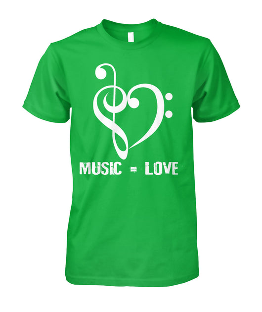 Music = Love Unisex T-Shirt