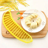 Kitchen Tools - Plastic Banana Slicer