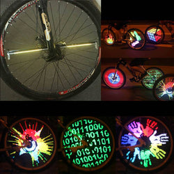 LED Light - 128 Colorful Bicycle Wheel Lights