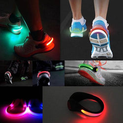 2 Pcs LED Shoe Clip