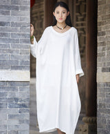 One Size Zen Style Long Dress