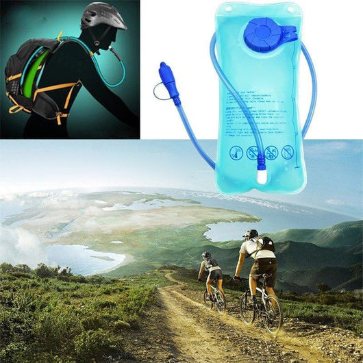 Outdoors Tools - 2L Hydration Wide Mouth Water Bladder Bag