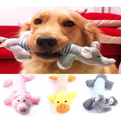 Pet Toys - Dog Chew Squeaky Plush Sound Toy