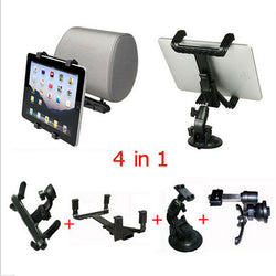 360 Degree Car Back Seat iPad/Tablet Universal Mount-Holder