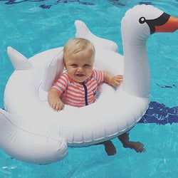Flamingo Baby Swimming Ring