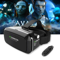 VR - VR Pro Virtual Reality 3D Glasses For 4-6' Smartphone + Remote