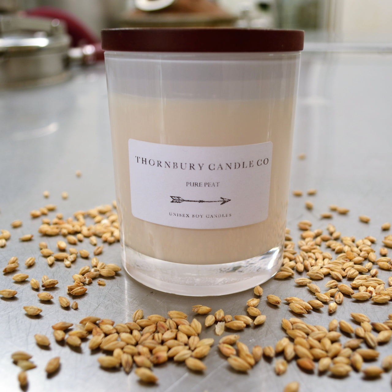 Thornbury candle co x bakery hill barrel aged candles