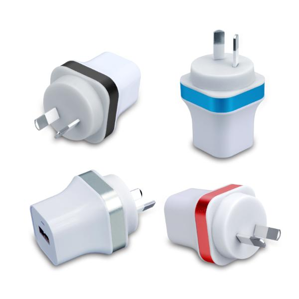 Home Charger AU Dual USB + Micro USB Cable (CH210)