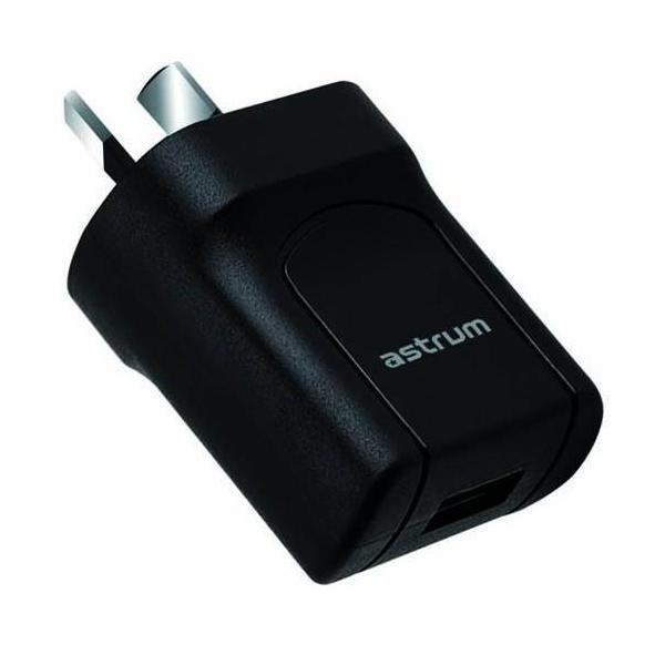 Home Charger AU Single USB 5V 1A CH110 - Astrum Products Australia