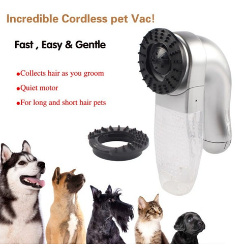 The K9 PetFur Magic Vacuum (For Cats, Dogs, and even Rabbits!)