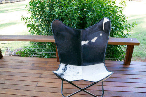 Butterfly Chair - Black & White Range