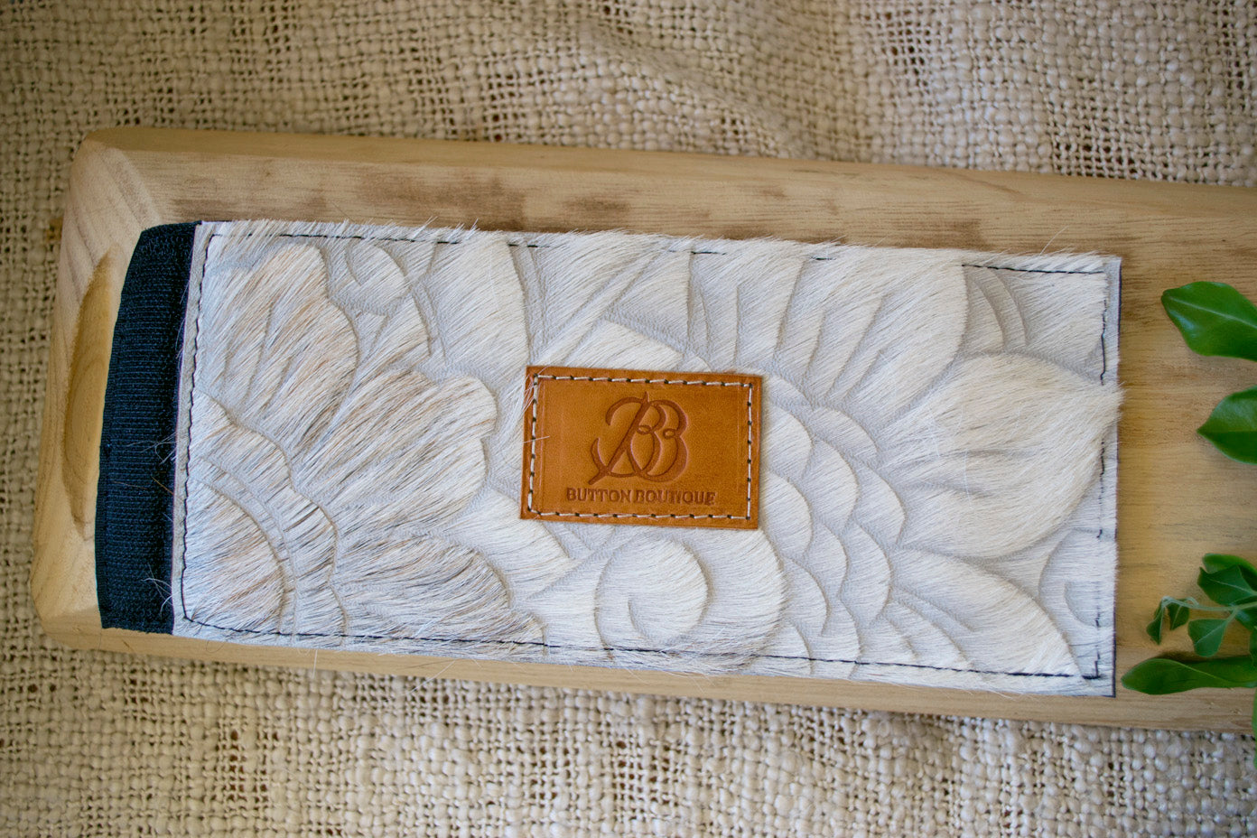 Cowhide Coolers ~ White Carved Collection