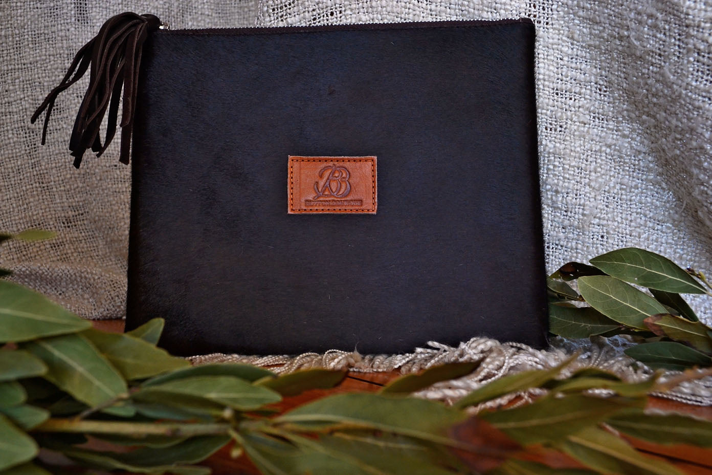 Large Clutch - Brown Collection