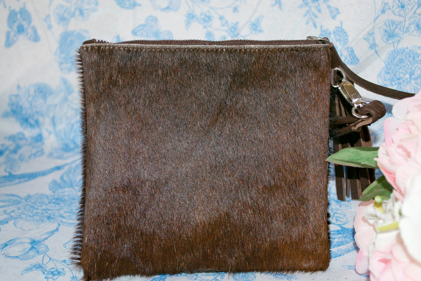 Small Clutch - Dark Brown Collection