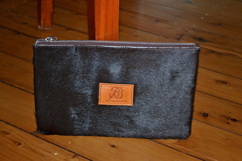 Medium Clutch - Grey Collection