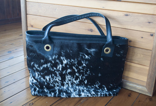Toolong Tote ~ Black & White Collection
