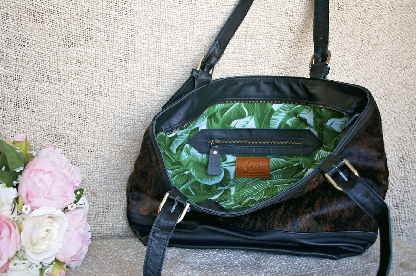 Toolong Tote ~ Tiger Collection