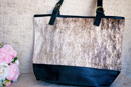 Toolong Tote ~ Cream Collection