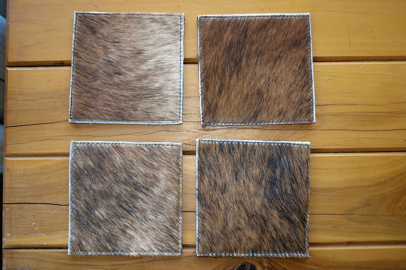 Coasters ~ Brown Collection