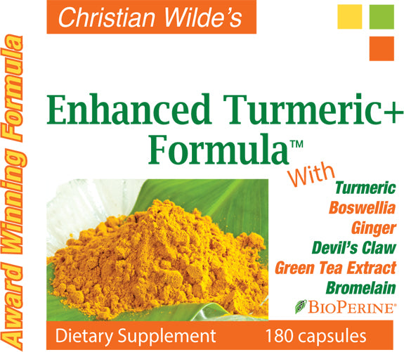 Christian Wilde Enhanced Turmeric+ Formula