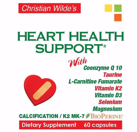HEART HEALTH SUPPORT (for statin and non statin users)