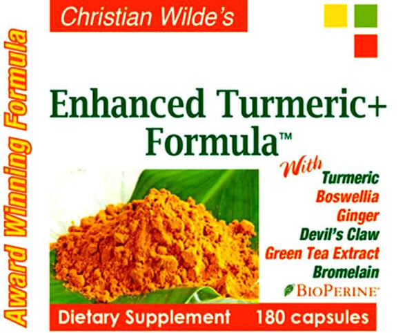 Christian Wilde's Enhanced Turmeric Formula
