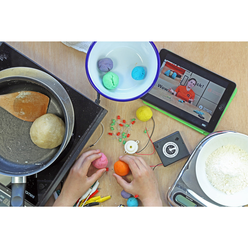 Technology WIll Save Us - DIY Electro Dough Kit
