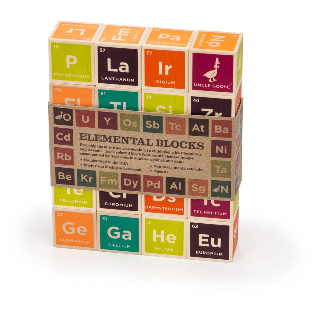 Uncle Goose - Periodic Table Blocks