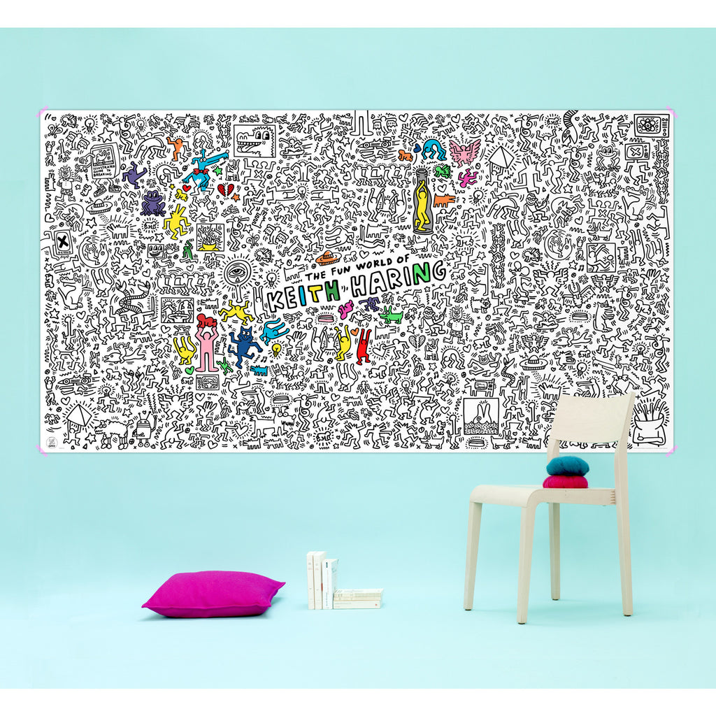 OMY - Giant Coloring Roll - Keith Haring XXL Poster
