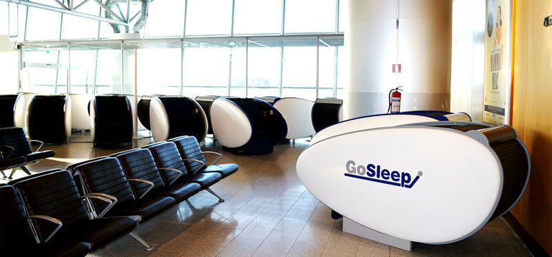 sleeping pods at helsinki airport