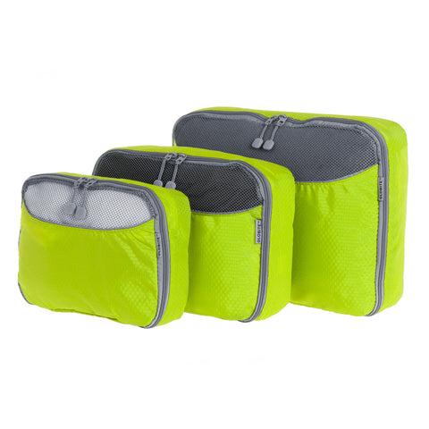 Packing Cube 3 Piece - Green - globitetravel