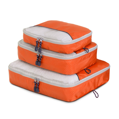 Packing Cube 3 Piece - Orange - globitetravel