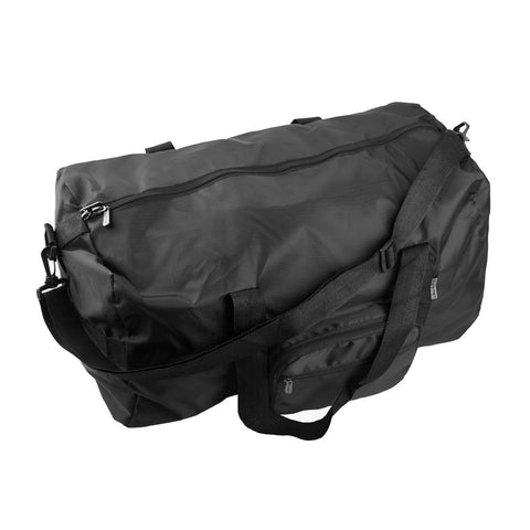Foldaway Duffle Bag - Black - globitetravel