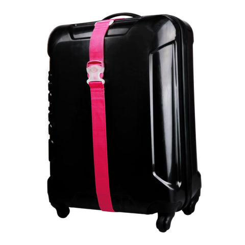 Luggage Strap Pink - globitetravel