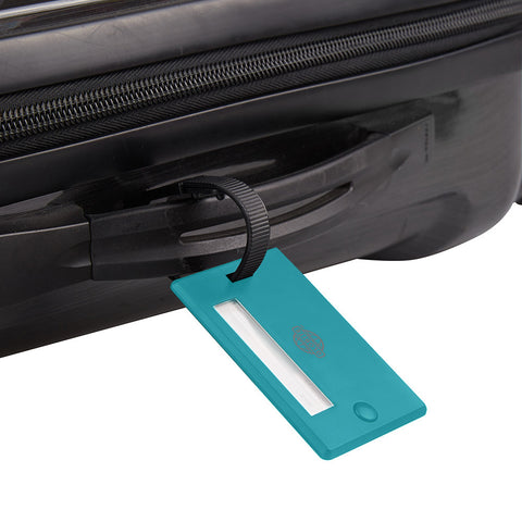 Swivel ID Luggage Tag 2pk - Blue - globitetravel