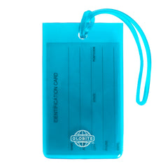 Jelly Luggage Tags 2pk - Blue - globitetravel