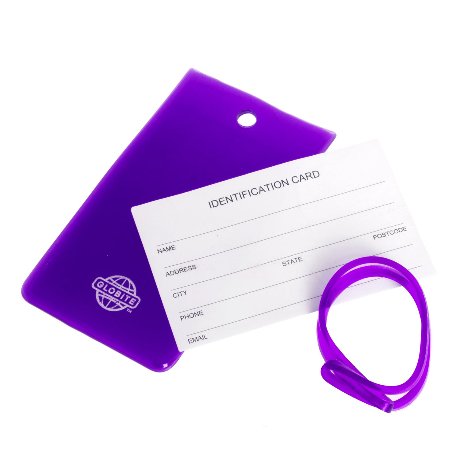 Jelly Luggage Tags 2 Pack - globite