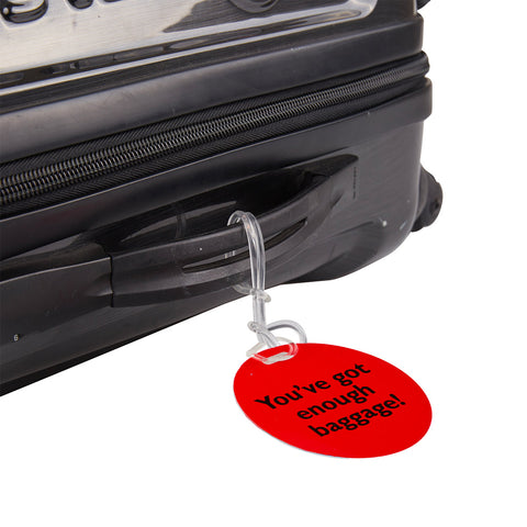 Luggage Tags 2pk - Slogan - globitetravel