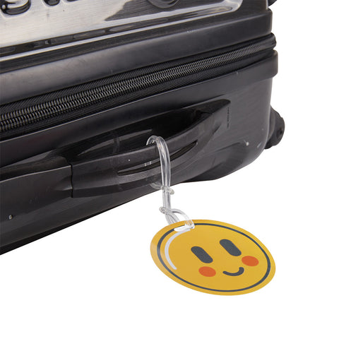 Luggage Tags Emoji-Blush - globitetravel
