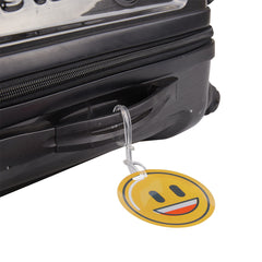 Luggage Tags Emoji-Smile - globitetravel